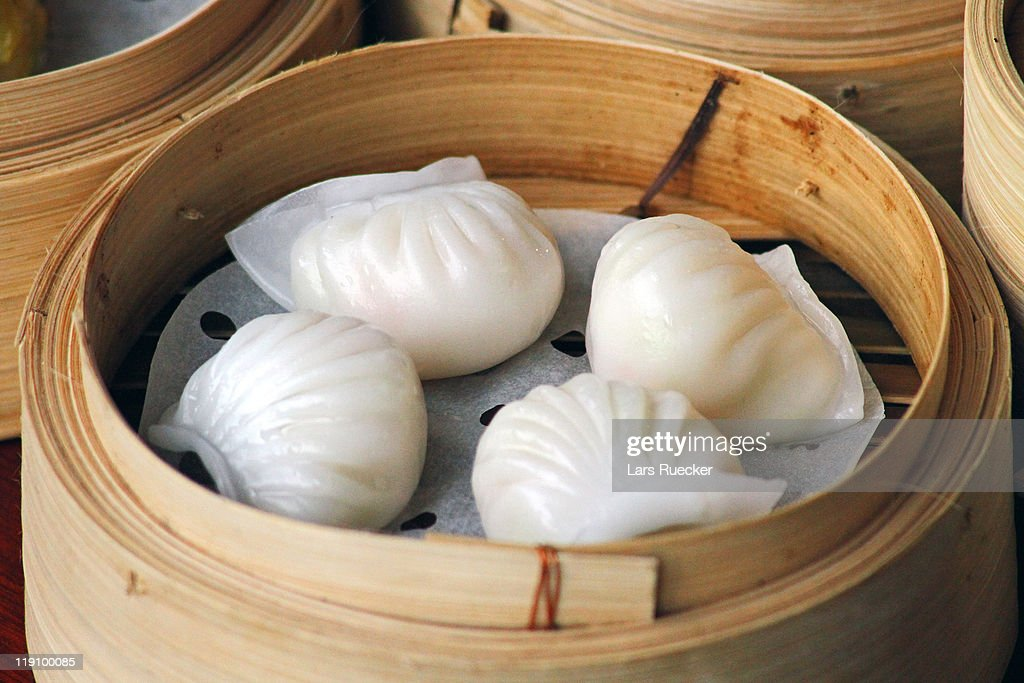 Chinese Dim Sum: Har Gau : Stock Photo