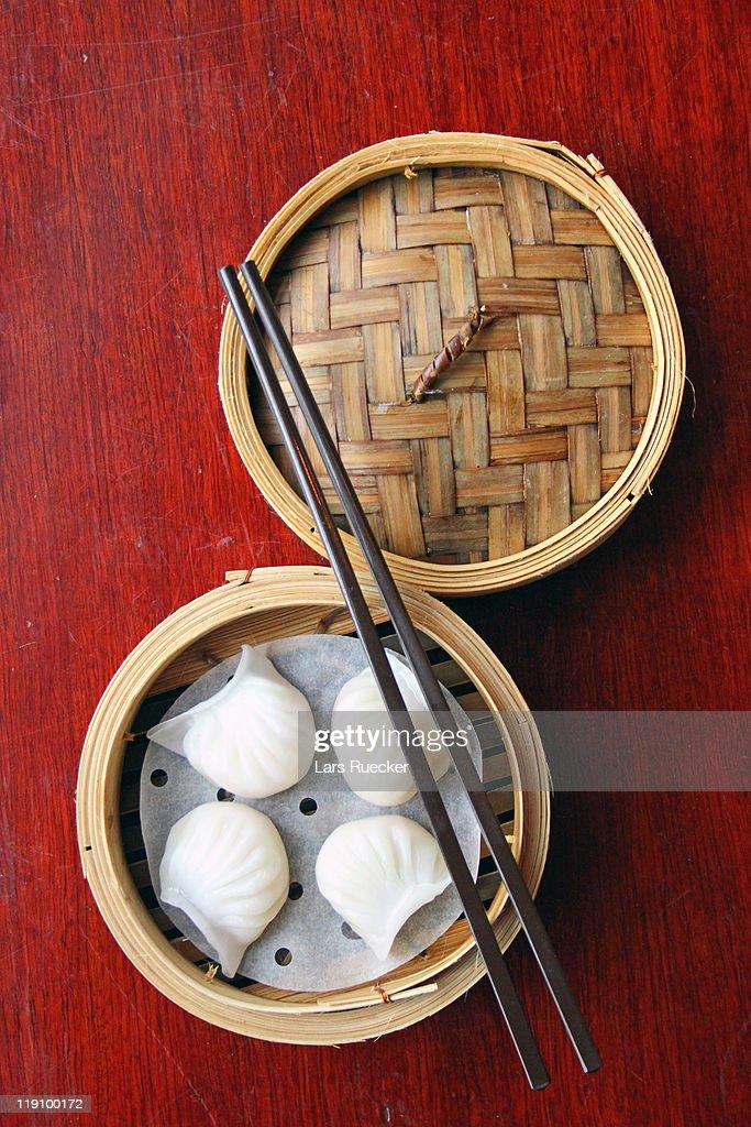 Chinese Dim Sum: Har Gau : Stock Photo