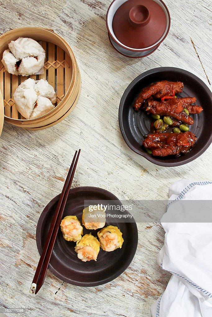 Chinese Dim Sum Spread : Stock Photo