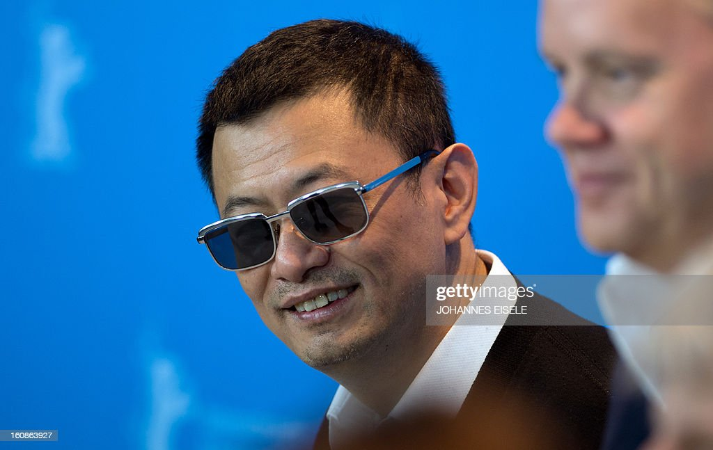 Chinese director Wong Kar Wai, president of the jury of the 63rd Berlin film festival, poses during a photocall on the festival's opening day on February 7, 2013. The 63rd Berlinale, the first major European film festival of the year, starts on February 7, 2013 with 24 productions screening in the main showcase.
