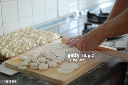 Chinese Dumpling : Stock Photo
