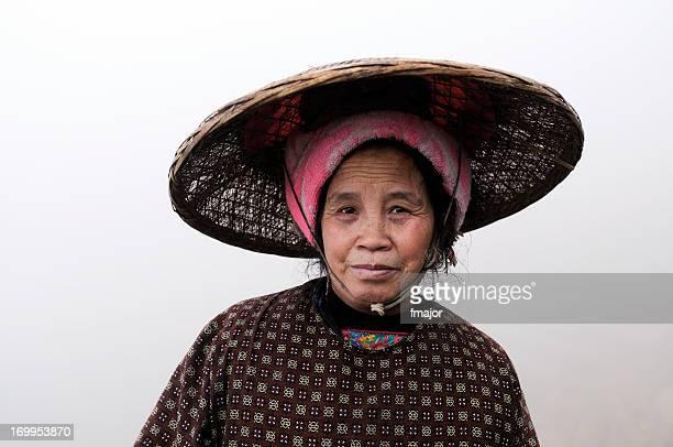 中国の農家