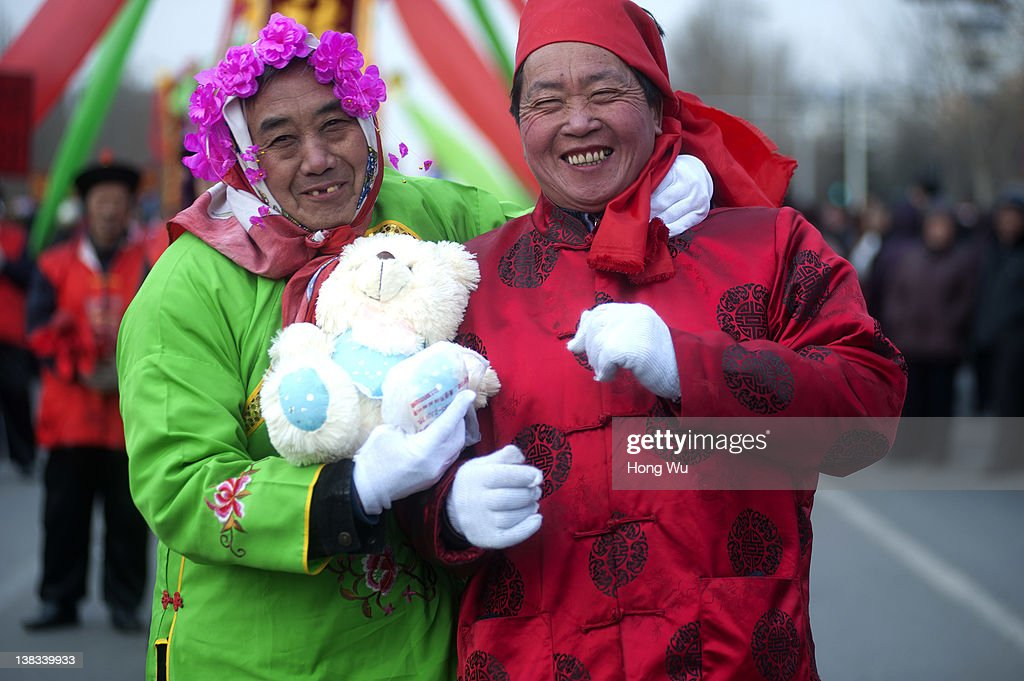 Chinese folk artists perform at a folk art cruise to celebrate the Chinese Lantern Festival on February 6, 2012 in Zibo, China. The Lantern Festival also known as the Yuanxiao Festival or Shangyuan Festival in China, falls on February 6 this year and marks the last day of the Lunar New Year celebrations.