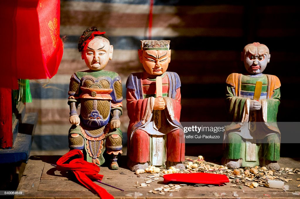 Chinese folk religion figures in Huanghuayu