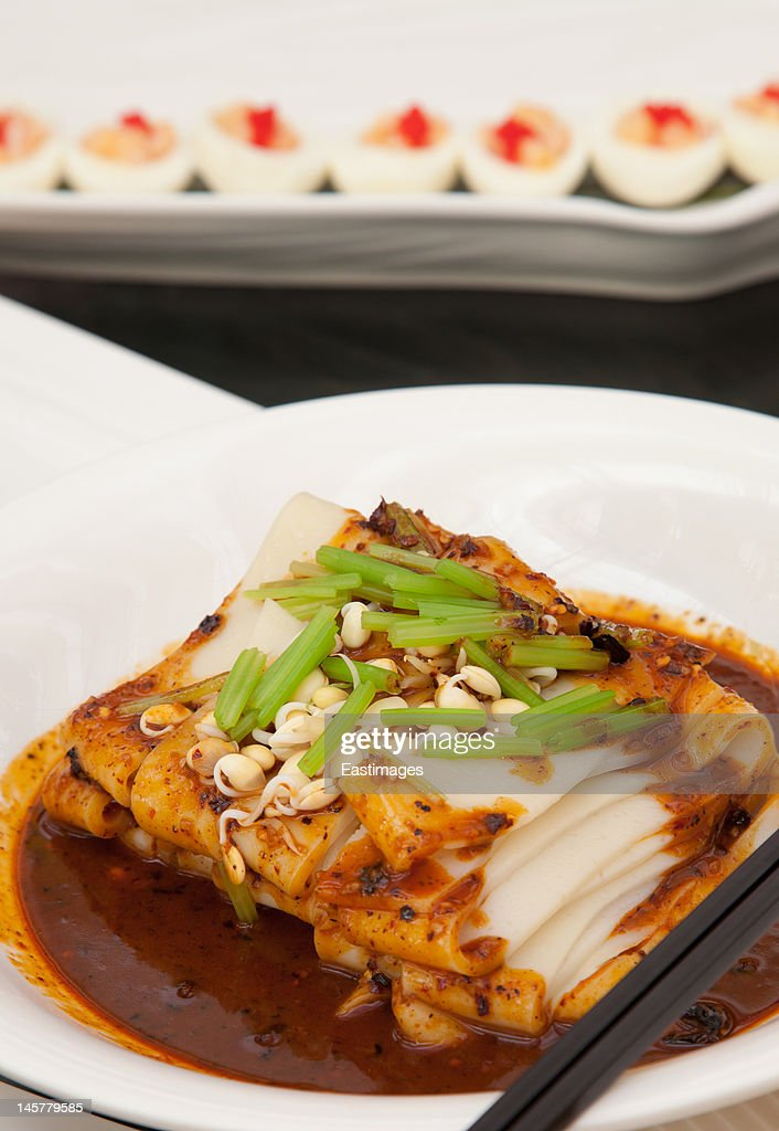 Chinese food bean thread : Stock Photo