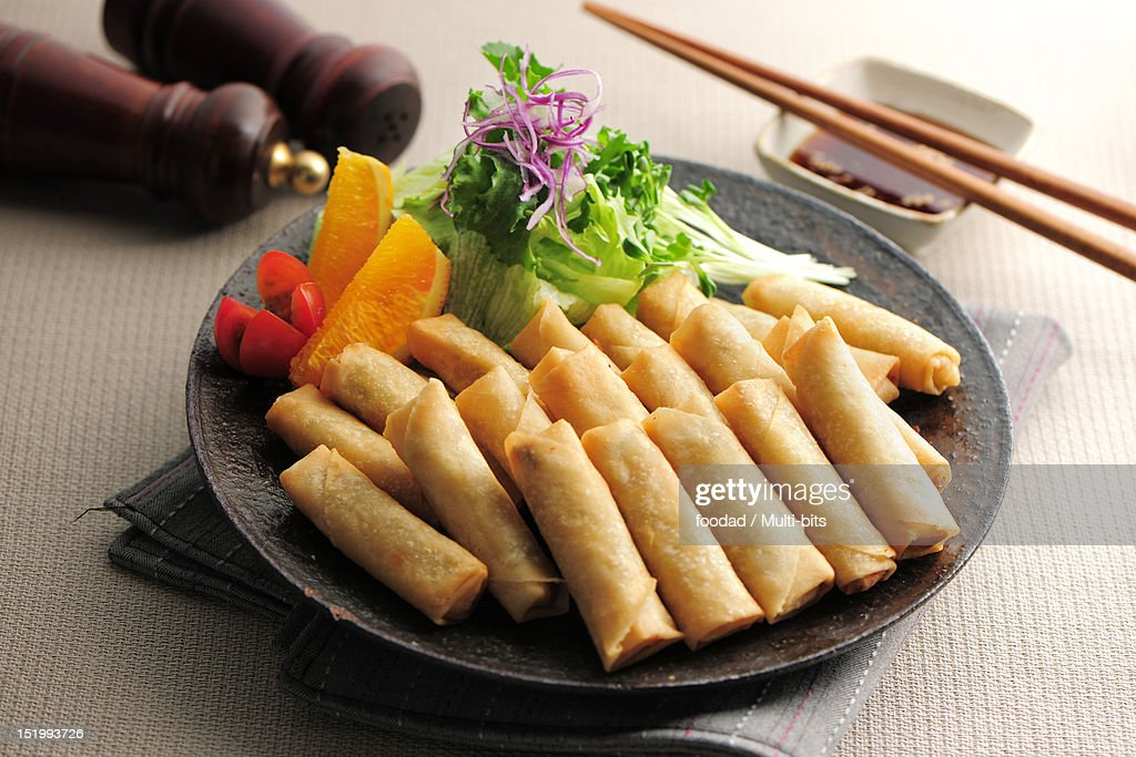 Chinese food, Fritter : Stock Photo