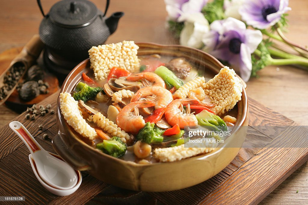 Chinese food, Nurungjitang : Stock Photo