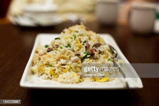 Chinese fried rice : Stock Photo
