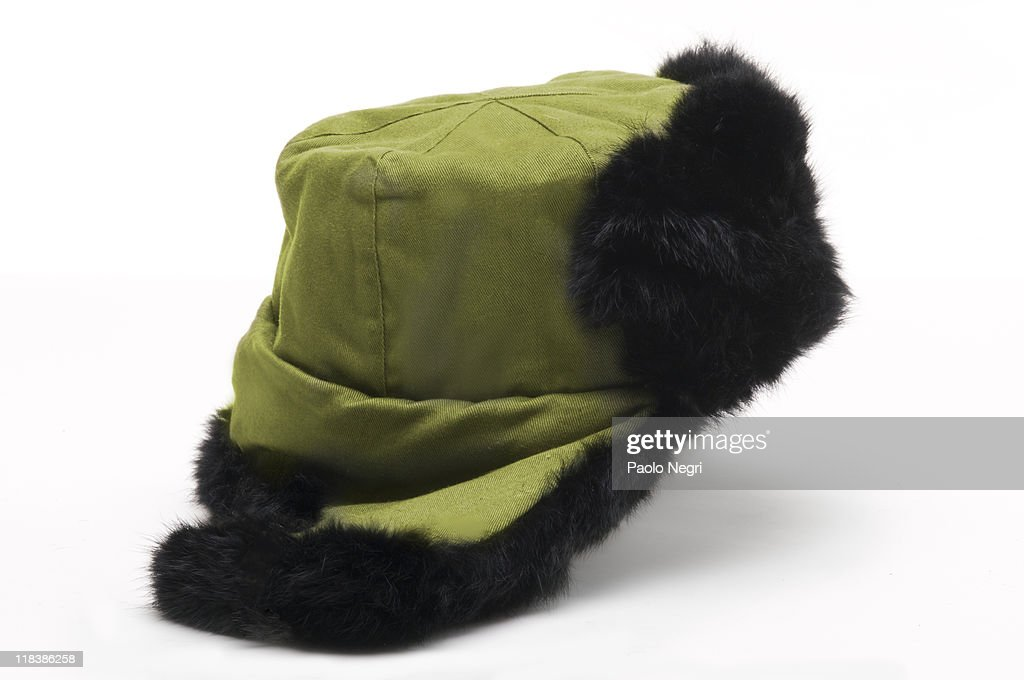 Chinese fur  hat : Stock Photo