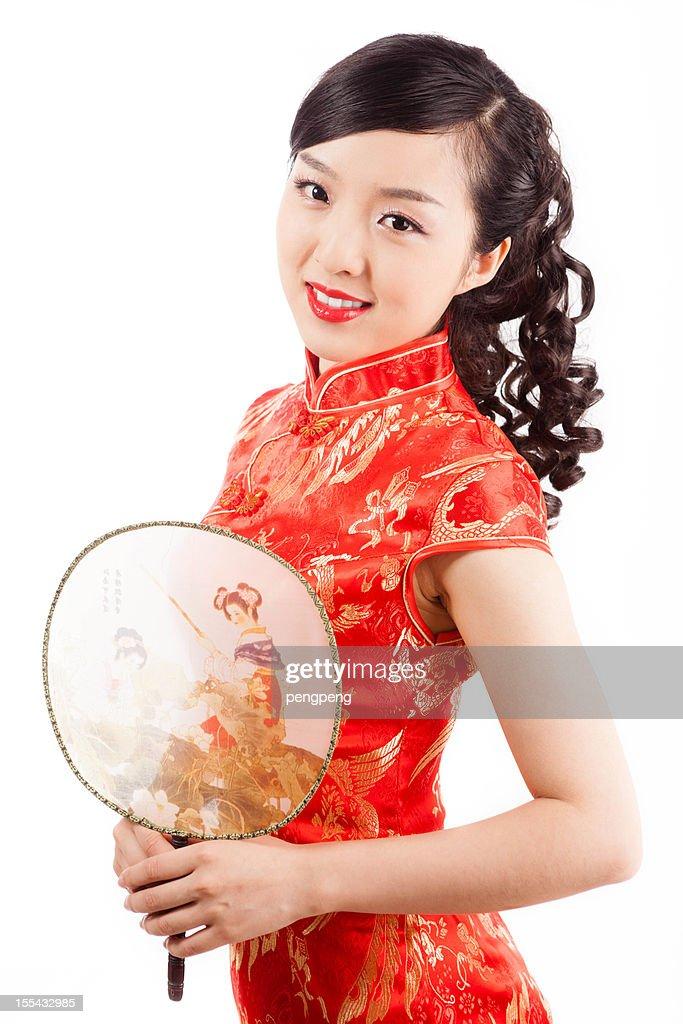Chinese girl : Bildbanksbilder