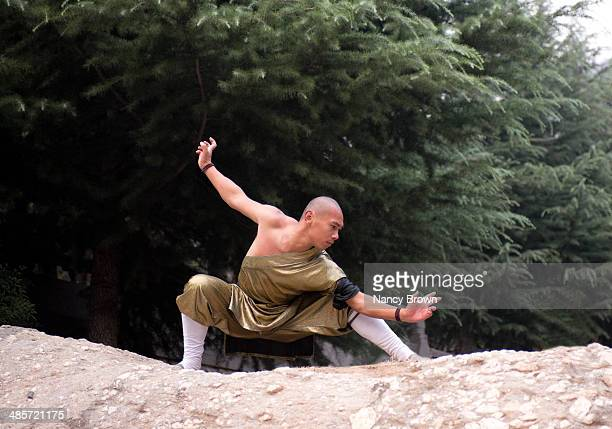 Chinese Kun Fu Expert in Shaolin Temple China.