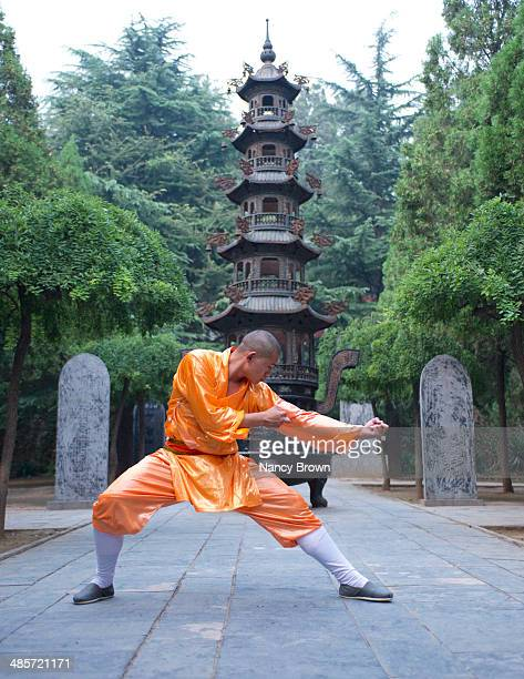 Chinese Kung Fu Expert in Shaolin Temple China.