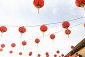 Chinese lanterns, California