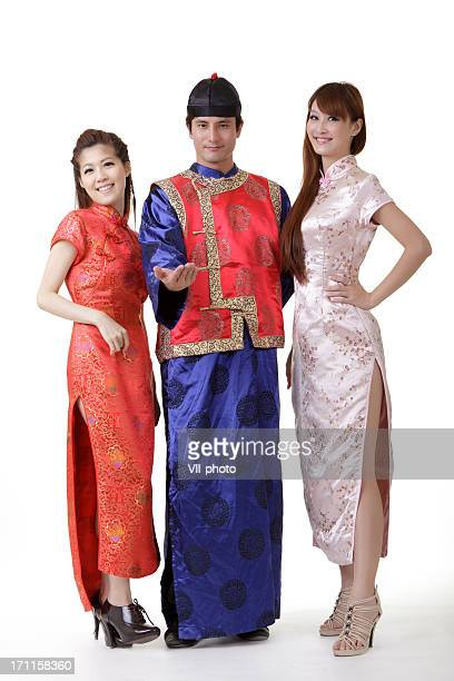 Chinois homme et femme