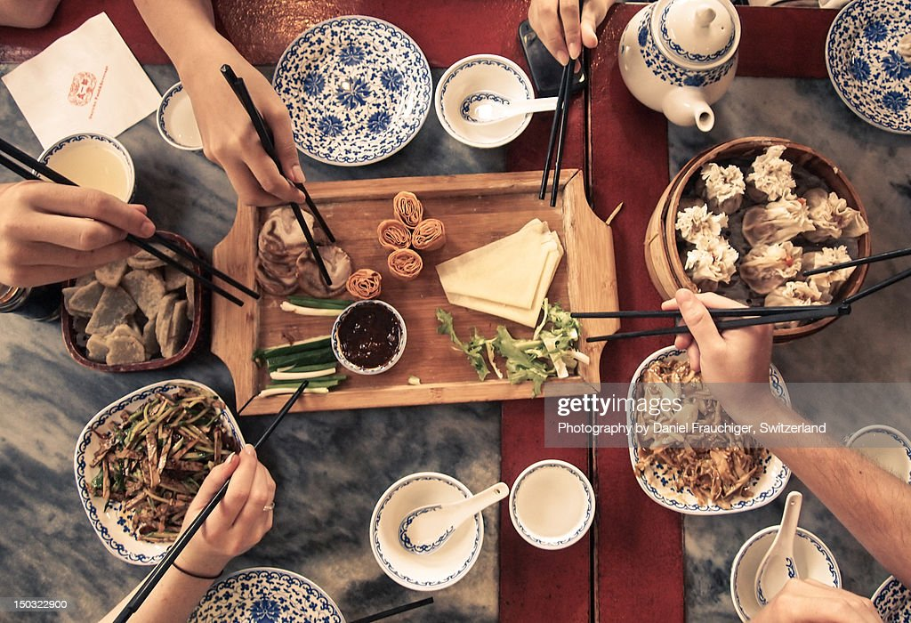 Chinese meal : Stock Photo