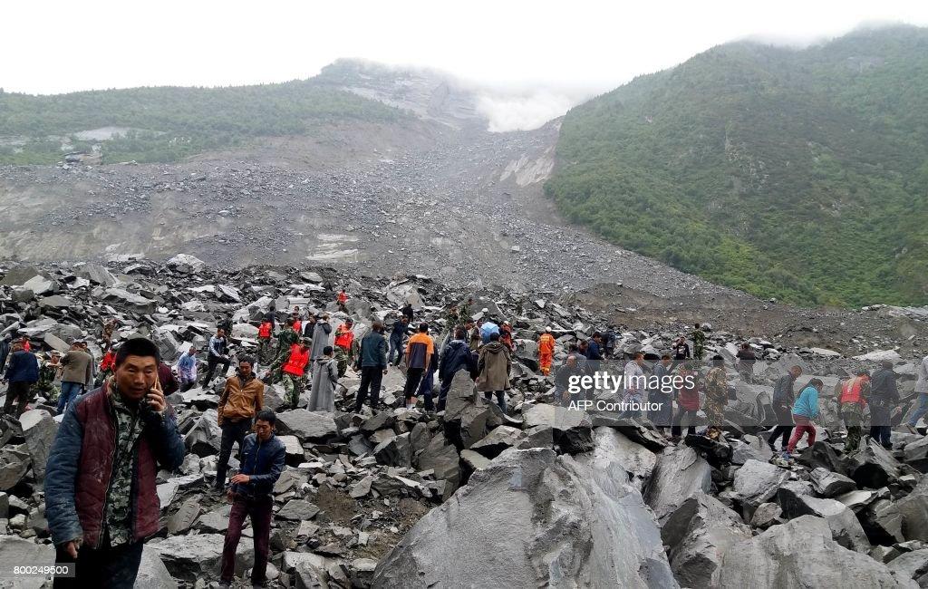 Landslide Buries Over 100 People in China