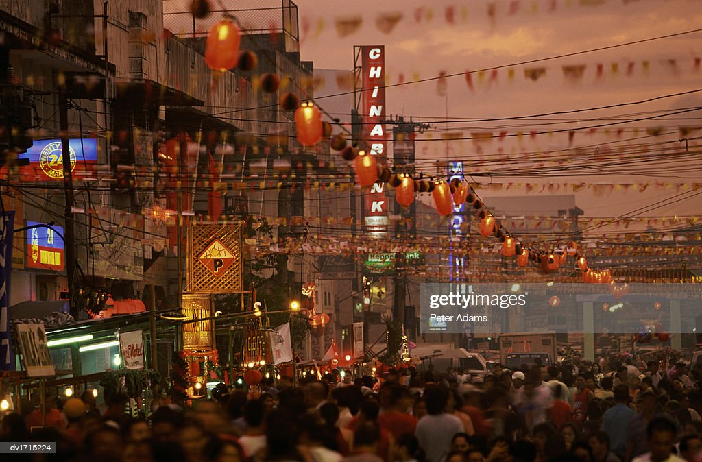 Chinese New Year in the Philippines : Stock Photo