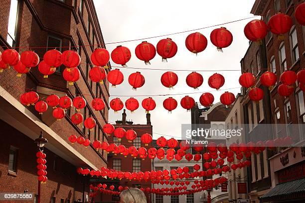 Chinese New Year lanterns
