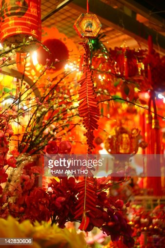 Chinese new year flower stock photos and pictures getty - Flowers for chinese new year ...