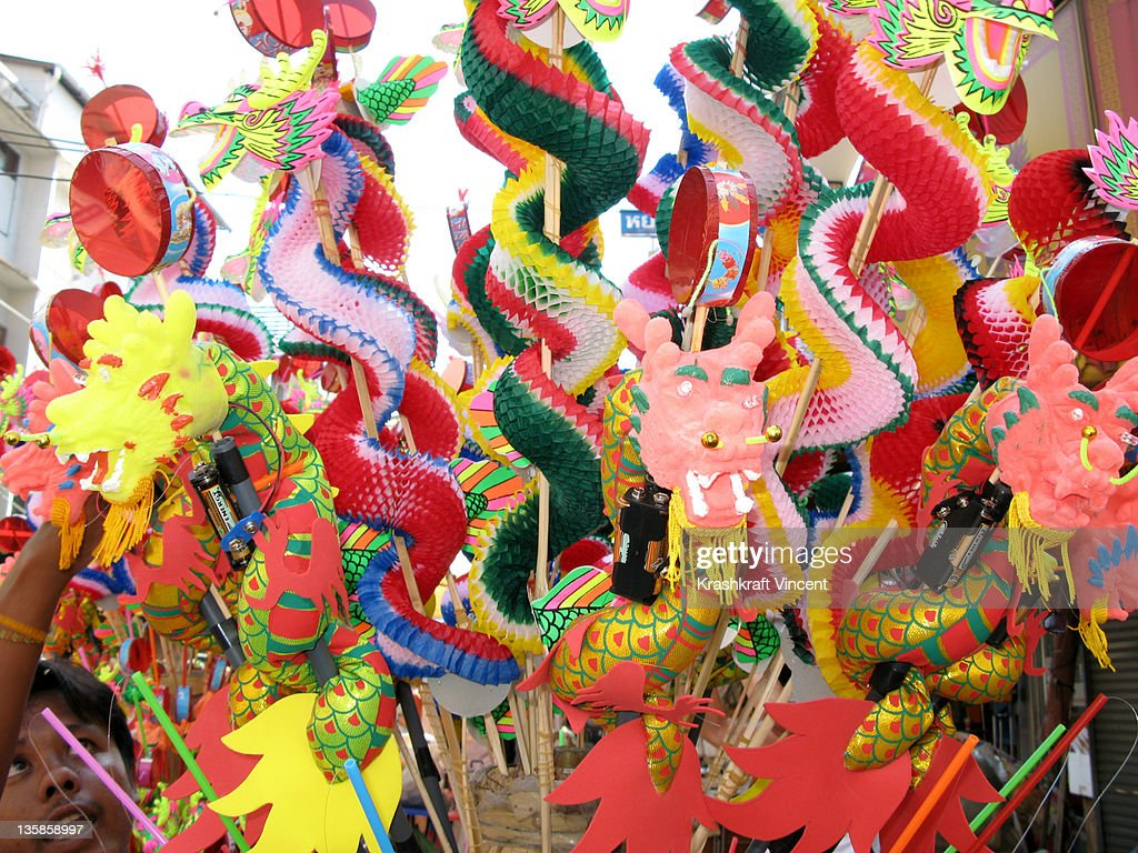 Toys For Chinese New Year : Chinese new year toys stock photo getty images