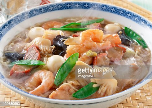 Chinese Noodles : Stock Photo