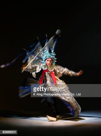 Chinesische Oper action (Zhao Yun)