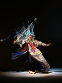 Chinese opera action (Zhao Yun)