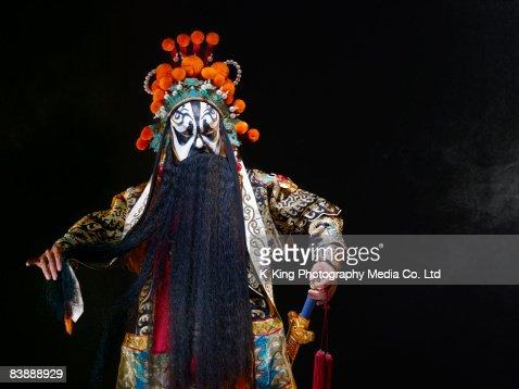 Chinesischen Oper-Figur mit Schwert (Ba Wang) : Stock-Foto