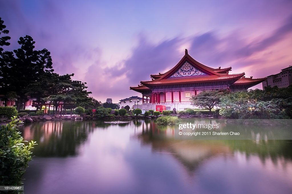 Chinese palace : Stock Photo
