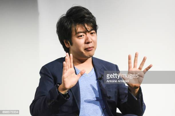 Chinese pianist Lang Lang attends the Cannes Lions Festival 2017 on June 20 2017 in Cannes France