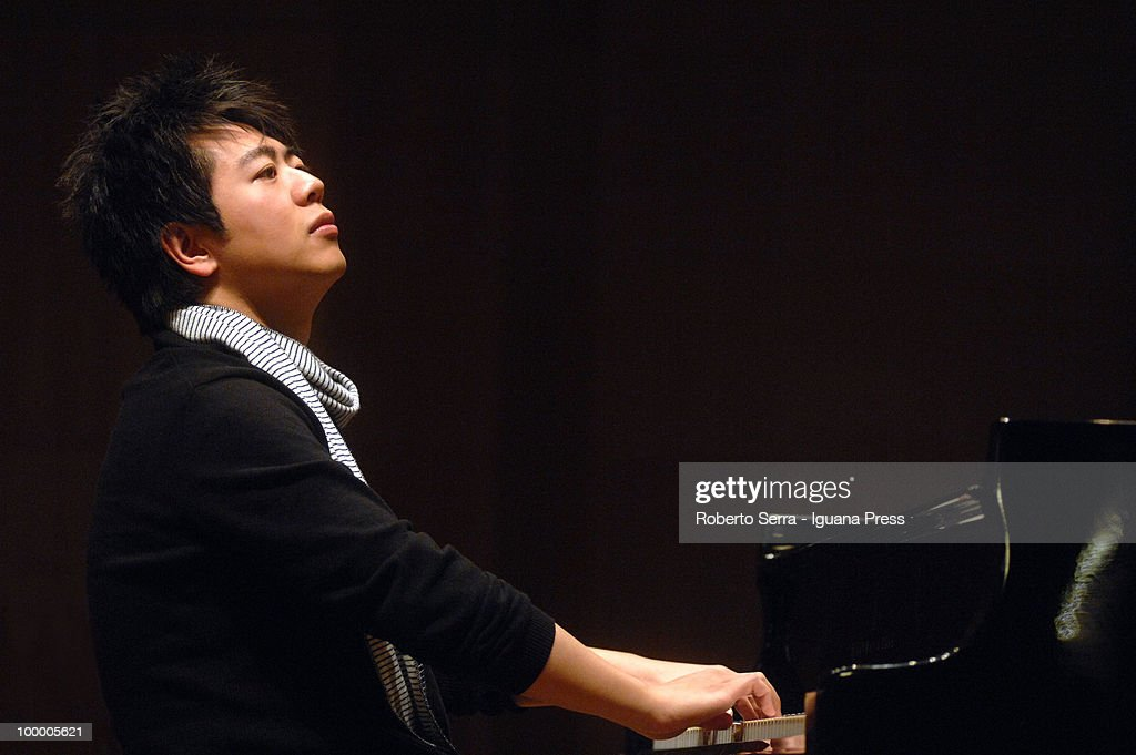 Chinese pianist Lang Lang perform his concert for Musica Insieme at auditorium Manzoni on May 19, 2010 in Bologna, Italy.