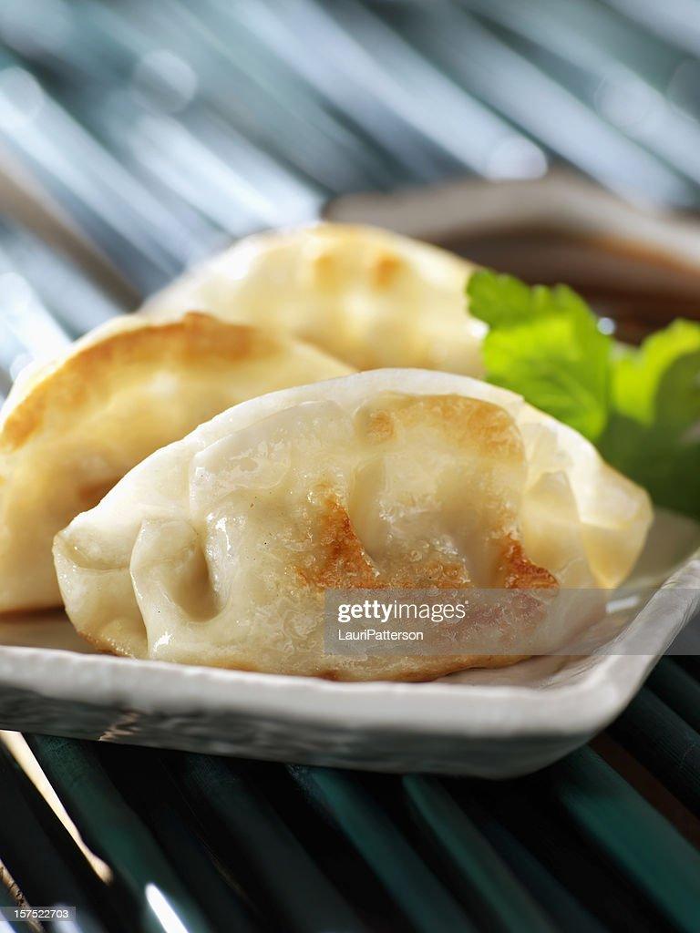 Chinese Pork Dumplings : Stock Photo