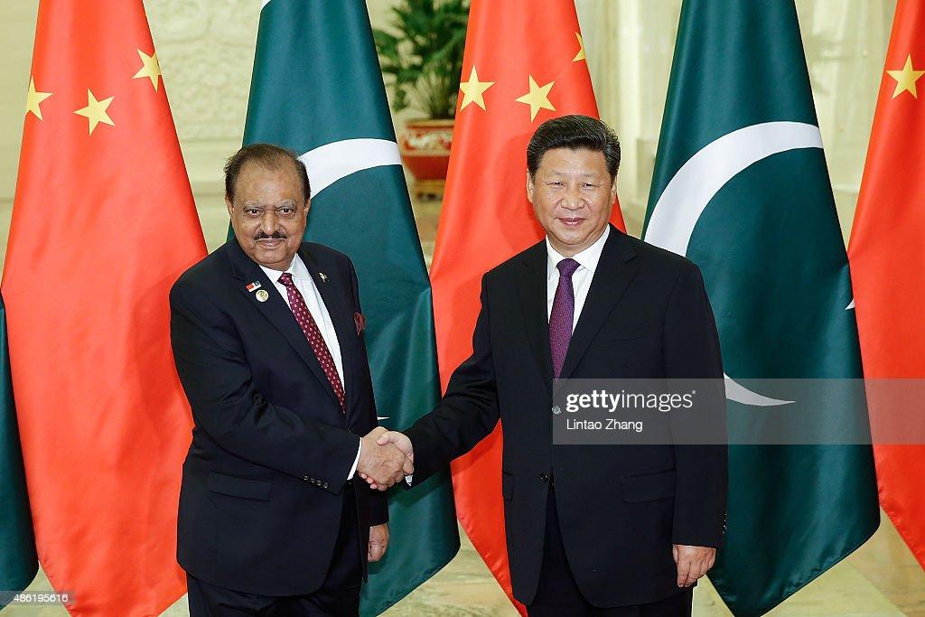 President Of Pakistan Mamnoon Hussain Visits China