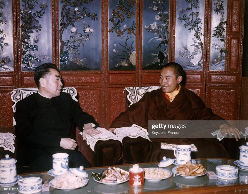 LAI Chinese Prime Minister and the Panchen Lama ERDENI