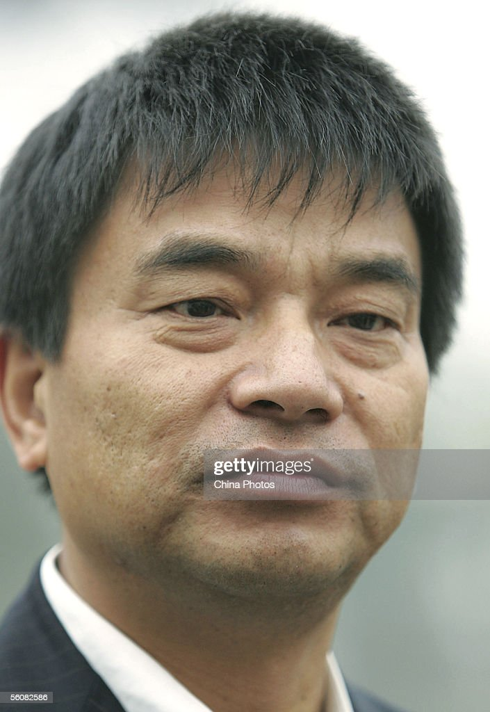 Chinese private enterpriser Liu Yonghao, Chairman and founder of the New Hope Group, attends the opening ceremony of a milk farm on November 3, 2005 in Yaan of Sichuan Province, southwest China. 54-year-old Liu, one of China's top business entrepreneurs, has been regarded by Fortune magazine as the richest man in China three times. The Sichuan-based New Hope Group is the leading animal feed producer and one of the largest private companies in China, with 76 branches throughout the country. Its diverse sectors of activity range from feed meal, food processing, international trade, real estate, banking, financing to printing. Currently the group is entering into the hi-tech sector.