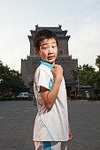 Chinese School Child