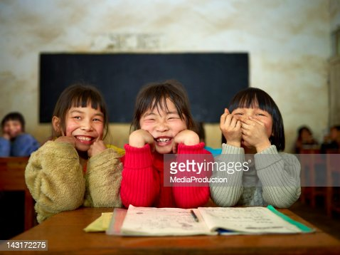 Chinese school children