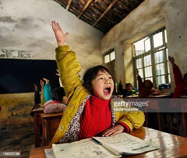 Crianças de escola Chinesa