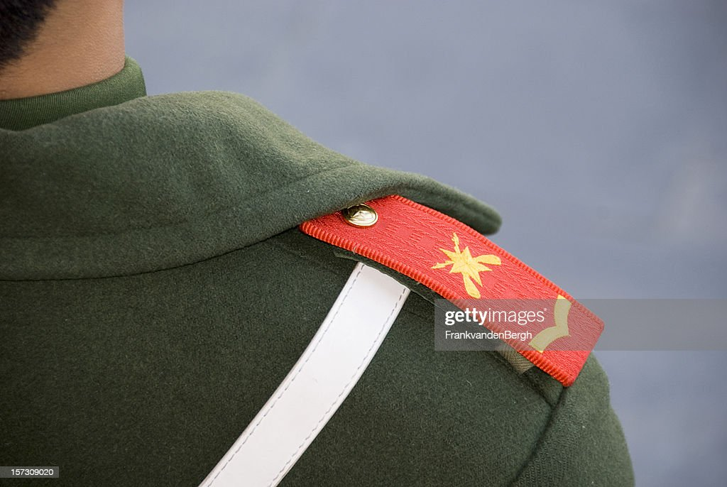 Chinese soldier : Stock Photo