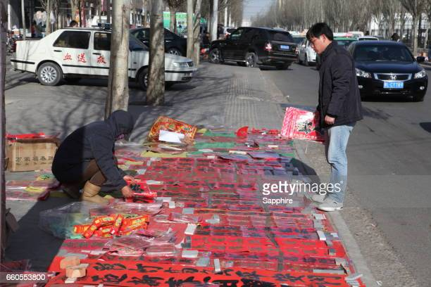 Chinese special purchases for the Spring Festival market, Inner Mongolia,China