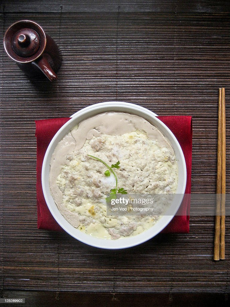 Chinese steamed pork : Stock Photo