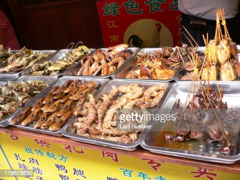 Chinese Street Food : Stock Photo