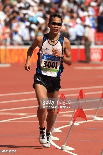 Chinese Taipei's WenChien Wu during the Men's Marathon
