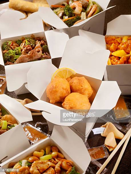 Chinese Take Out, Deep Fried Chicken balls
