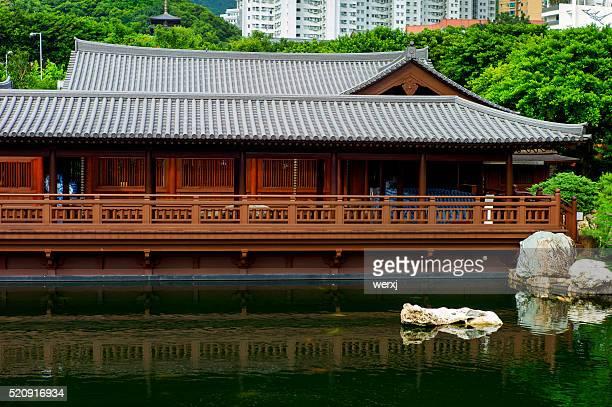 Chinese Tea House -landscape
