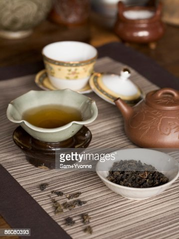 Chinese tea : Stock Photo