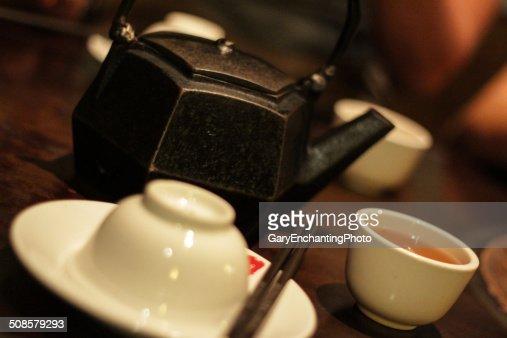 Chinese Tea Pot : Stock Photo