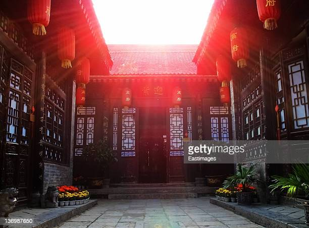 Chinese traditional architecture,xi'an,china