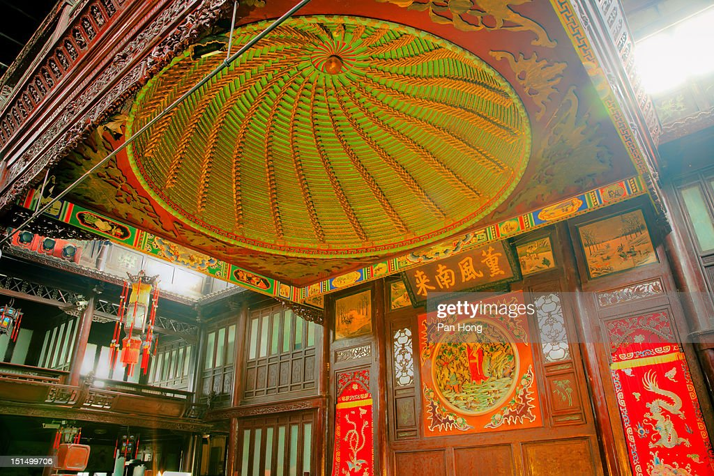 Chinese traditional drama stage : Stock Photo