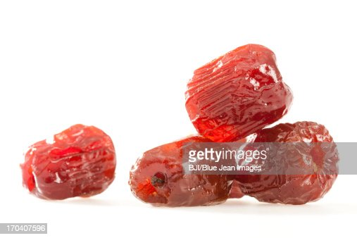 Chinese traditional  preserved fruit : Stock Photo